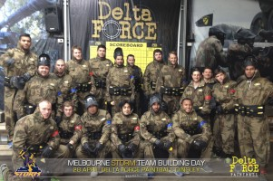 Melbourne Storm Play at Delta Force Paintball Dingley Melbourne