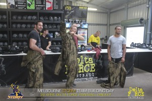 Melbourne Storm Play At Delta Force Paintball Dingley In Melbourne
