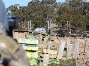 Delta Force Paintball Geelong D-Day Landing
