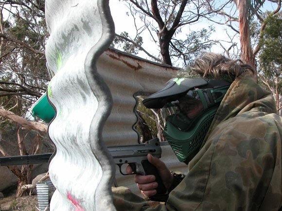 Delta Force Paintball Geelong Dr Evil's Laser