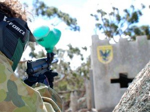 Delta Force Paintball Geelong The Castle