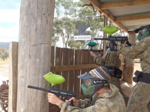 Delta Force Paintball Geelong Wild West